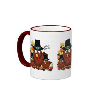 Gobble Gobble Ringer Mug
