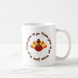 Gobble 'til you Wobble Basic White Mug