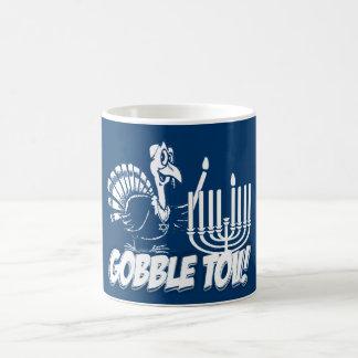 Gobble Tov Thanksgivukkah Turkey  Mug