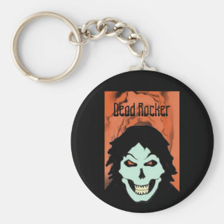 goblin2, Dead Rocker Basic Round Button Key Ring