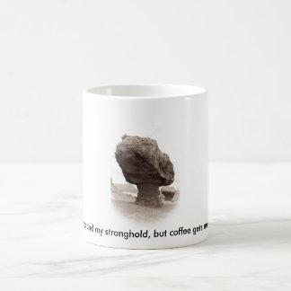 God and Coffee Basic White Mug