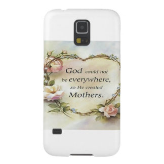 God Could Not Be Everywhere.... Cases For Galaxy S5