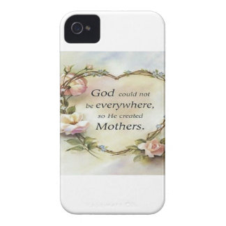 God Could Not Be Everywhere.... iPhone 4 Cases