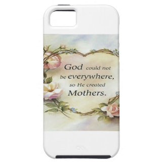God Could Not Be Everywhere.... iPhone 5 Covers
