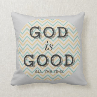 God Is Good All The Time Throw Pillow Cushions