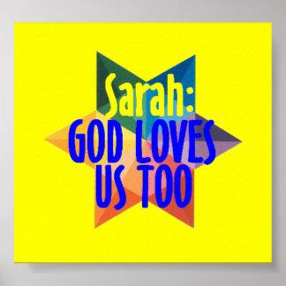 GOD LOVES US TOO Poster