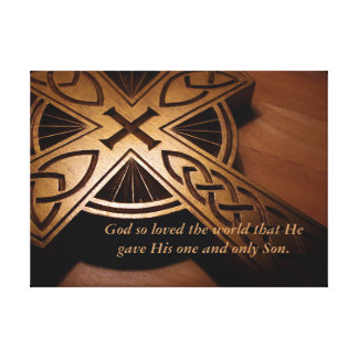 God So Loved the World Gallery Wrap Canvas