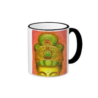 Goddess Kuan Yin's Crown Ringer Mug