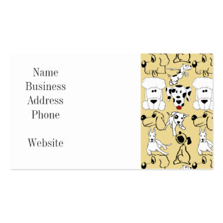 Going to the Dogs Pet Lovers Vet Dog Gifts Pack Of Standard Business Cards