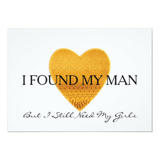 Gold glitter heart Will you be my bridesmaid 13 Cm X 18 Cm Invitation Card