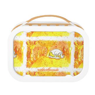 Golden Forest Unicorn Lunch Box