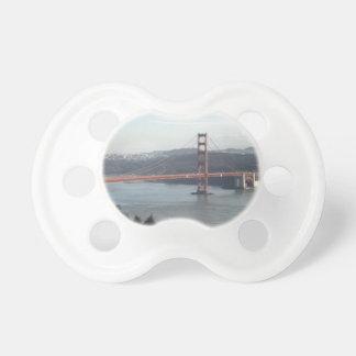 Golden Gate Bridge Baby Pacifier