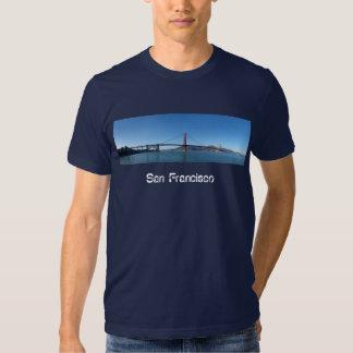 Golden Gate Bridge Panorama T Shirts