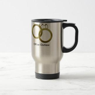Golden Handcuffs Travel Coffee Mug