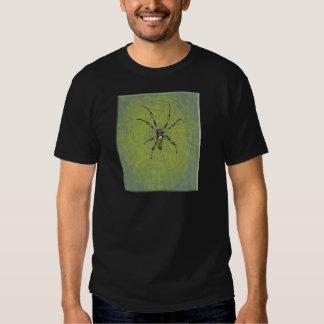 Golden Orb Spider Tee Shirts