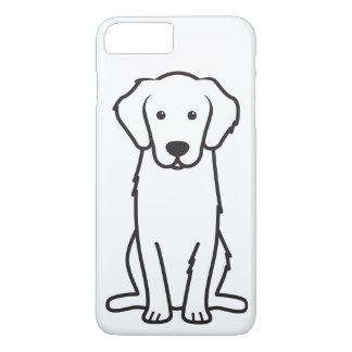 Golden Retriever Dog Cartoon iPhone 7 Plus Case