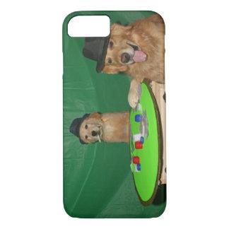 Golden Retriever Poker Pups iPhone 7 Case