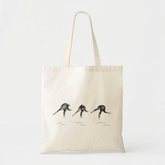 """""""Golden Rules"""" Tote Budget Tote Bag"""