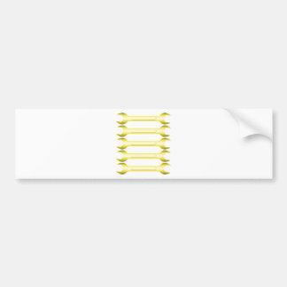 Golden Spanners Bumper Sticker
