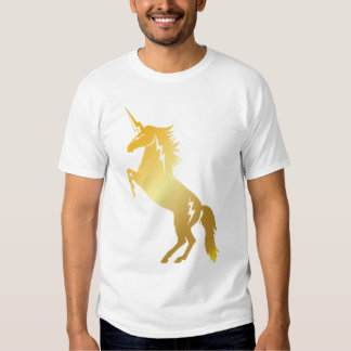 Golden Thundercorn Rearing T Shirt