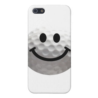 Golf ball smiley case for the iPhone 5