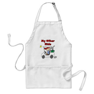 Golf My Other Ride Tshirts and Gifts Standard Apron