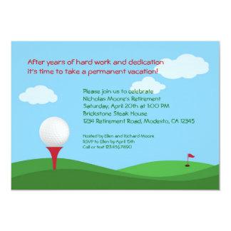Golf Retirement Party Invitation