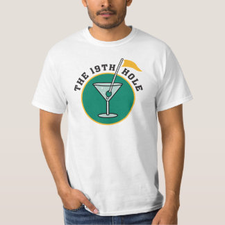 Golf The 19th Hole Drinking T-Shirt
