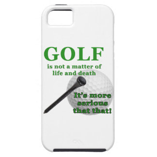 Golfer phone case