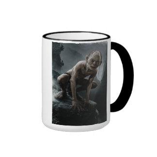 Gollum on a Rock Ringer Mug