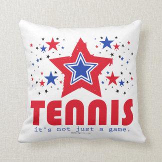 Golly Girls Patriotic USA Stars Tennis Throw Cushions