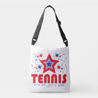 Golly Girls Patriotic USA Stars Tennis Tote Bag