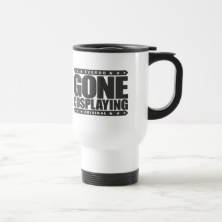 GONE COSPLAYING - Manga, Anime, Cosplay Subculture Stainless Steel Travel Mug
