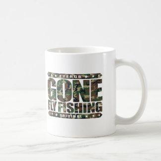 GONE FLY FISHING - State Freshwater Record Holder Basic White Mug
