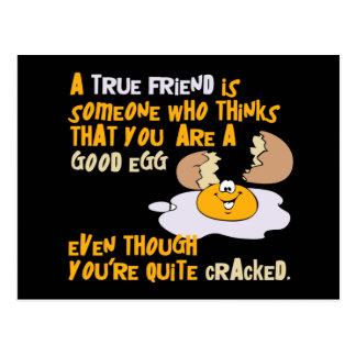 Good Egg postcard