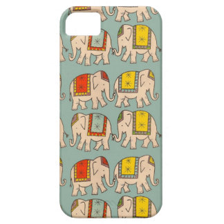 Good luck circus elephants cute elephant pattern iPhone 5 cover