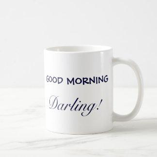 GOOD MORNING, Darling! Basic White Mug