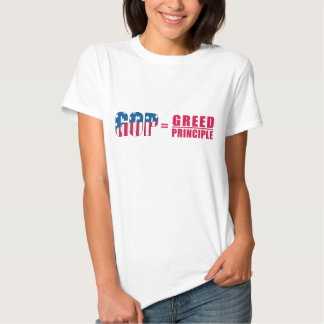 GOP = Greed Over Principle Ladies' Shirt version 2