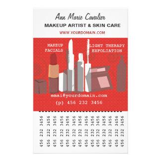 Gorgeous Fashion Beauty Makeup Artist Business 14 Cm X 21.5 Cm Flyer