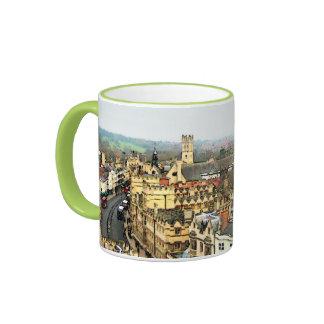 Gorgeous Oxford, England, High Street, The High #2 Ringer Mug