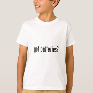 got batteries? tee shirt