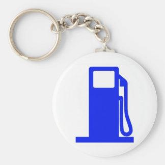 Got Gas? Basic Round Button Key Ring