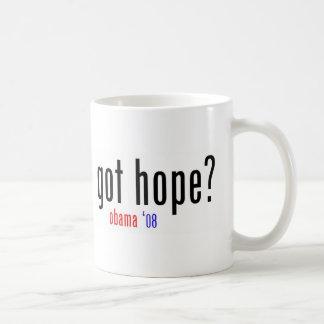got hope? obama 08 basic white mug