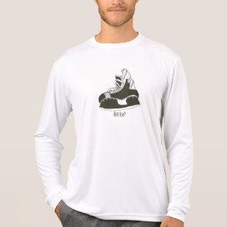 Got Ice? Hockey Skate Longsleeve Microfiber Tshirts