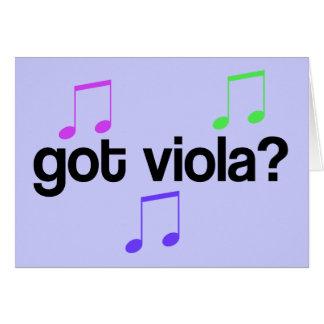 Got Viola Music Card