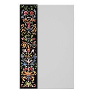 Gothic Illuminated Art Stationery