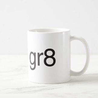 gr8 basic white mug