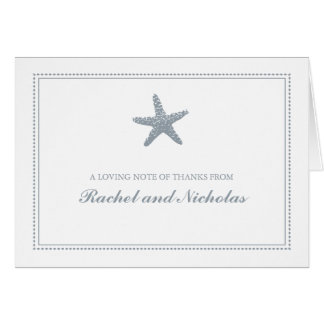 Graceful Starfish | Thank You Note Card