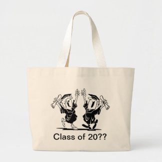 Graduation Couple - Class of Jumbo Tote Bag