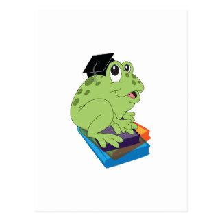 Graduation Frog Postcard